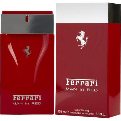 FERRARI MAN IN RED by Ferrari