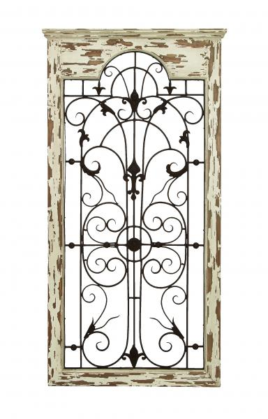 Magical wooded gate style wall plaque