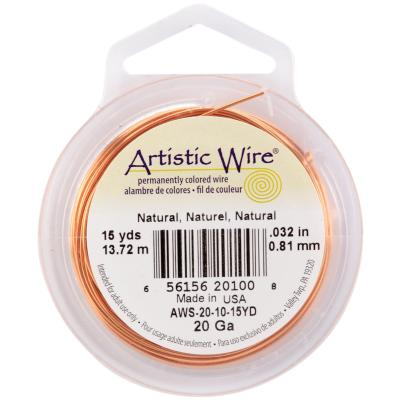 Artistic Wire-Natural - 20 Gauge, 15yd