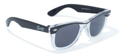 Classic Wayfarer Look with Beautfiul Clear/Black Flare by Swag