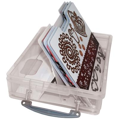 Zutter Handy Cling & Clear Stamp Storage System-