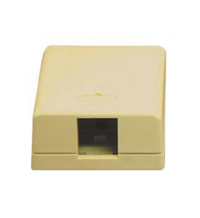 ICC Ic107sb1iv Surface Box 1pt Ivory