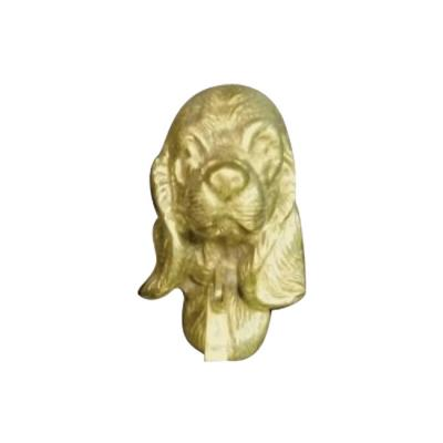 Mayer Mill Brass Decorative Polished Antique Cocker Spaniel Door Knocker