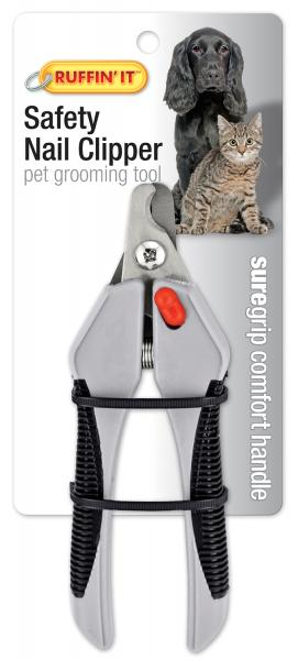 Soft Grip Safety Nail Clipper For Dogs & Cats-