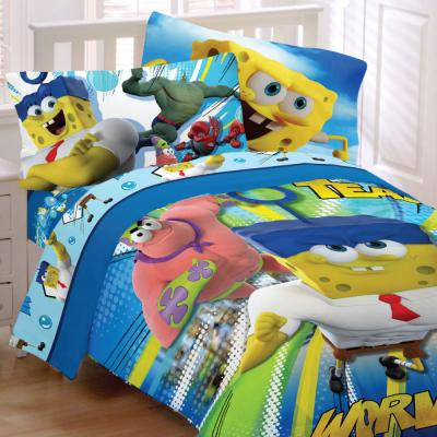 Spongebob Squarepants Movie Bedding Set Mr Awesome