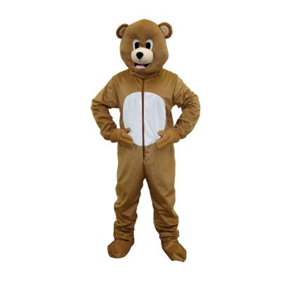 Brown Bear Mascot - Size Small (4-6)