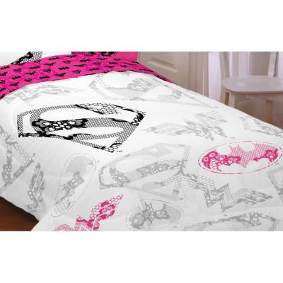 5 Justice League Girl Awesome Power Twin-Full Comforters