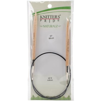 Knitters Pride-Naturalz Fixed Circular Needles 47'-Size 10.75/7mm