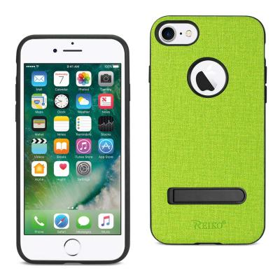 Reiko iPhone 7/8/SE2 DENIM TEXTURE TPU PROTECTOR COVER IN GREEN