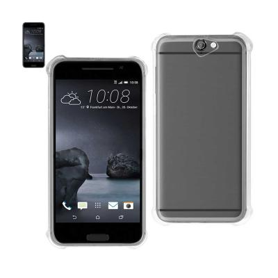 Reiko Htc One A9 Clear Bumper Case With Air Cushion Protection In Clear