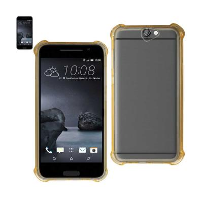 Reiko Htc One A9 Clear Bumper Case With Air Cushion Protection In Clear Gold